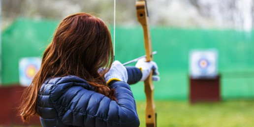 Youth bow finder