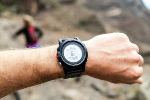 GPS watch for hunting